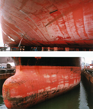 Ecoloflex spc provides stable long-term anti-fouling performance and realizes fuel cost reduction and regular service