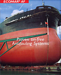 Ecomar AF series - Proven tin-free antifouling product