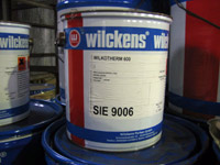 Heat resistant products from wilckens