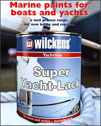 Wilckens marine paints for boats and yachts - anti-fouling